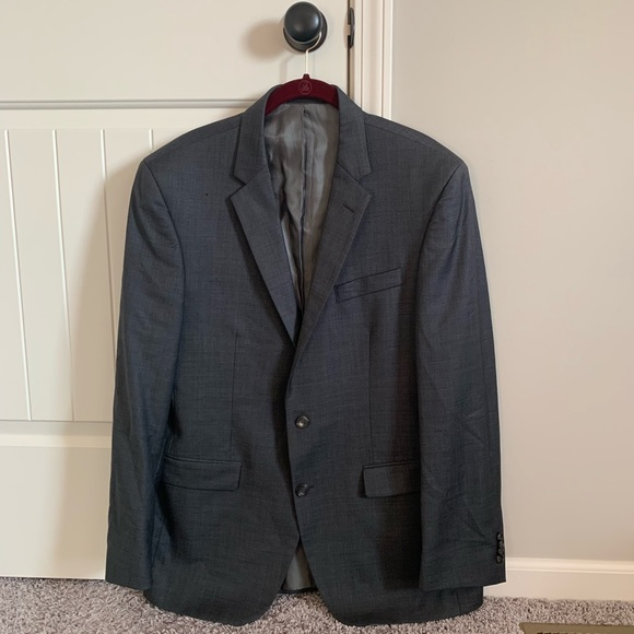 Kenneth Cole Other - Kenneth Cole Suit Jacket Charcoal 42R